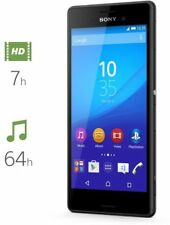 Sony Xperia M4 Aqua E2303  8GB  Black Unlocked Smartphone Wi-Fi 13MP ClearAudio