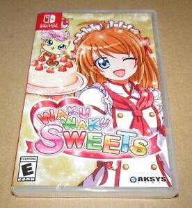 Waku Waku Sweets (Nintendo Switch) Brand New / Fast Shipping
