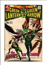 """GREEN LANTERN #82  [1971 VG+]  NEAL ADAMS COVER!  """"THE HARPIES ARE COMING!"""""""