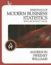 Essentials of Modern Business Statistics Anderson Sweeney Williams
