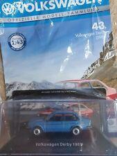 VW Derby 2 von 1981 in blaumetallic 1:43 von Deagostini Nr.43 NEUHEIT
