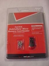 NIB - SANDISK MOBILEMATE MICRO MEMORY CARD READER