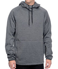 2016 NWT MENS ELEMENT DEPTFORD HOODIE $75 M charcoal heather pullover polyester