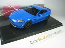 JAGUAR XKR-S 1/43 IXO (FRENCH RACING BLUE)