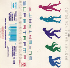 """K 7 AUDIO (TAPE) SUPERTRAMP  """"BROTHER WHERE YOU BOUND"""""""
