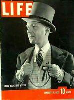 LIFE MAGAZINE JANUARY 16 1939