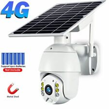 IP Camera WIFI Solar Panel Battery Security Outdoor CMOS PTZ CCTV Monitor 1080P