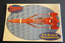 F.A.B.ULOUS THUNDERBIRDS F3 - THUNDERBIRD 3 - Cards Inc. ** Foil Chase Card