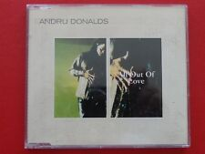 ANDRU DONALDS - ALL OUT OF LOVE , Maxi EP Musik CD Rock Pop ~033