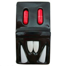 Hot Zombie Fang & Blood Pill Halloween Vampire Teeth Props Costume Party Child