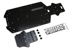Exotek Racing 1239 Carbon Bottom Plate Set Losi Mini 8ight