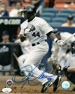 MIKE CAMERON SINGLE SIGNED 8X10 PHOTO JSA COA AUTO AUTOGRAPH NEW YORK METS