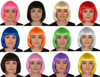 Femmes Perruque Carré Court Déguisement Cosplay Perruques Pop Costume de Fête