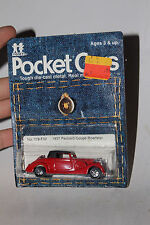 TOMY TOMICA POCKET CARS #179-F52 1937 PACKARD COUPE ROADSTER, NEW ON CARD, LOT D