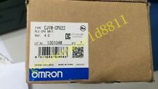 NEW OMRON CJ1M Host, CJ1M-CPU22 good in condition for industry use