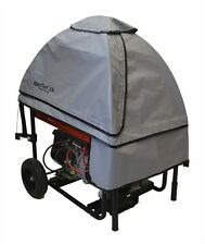 GenTent 10K Stormbracer Portable Generator Tent Grey with Black Trim Gt10Kb00Gb