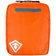 First Tactical Trauma Kit Organiser Medication Pouch Survival First Aid Orange