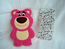 Iphone 6 plus cases Skinny Dip Glitter Unicorns - Silicon Toy Story Lotso bear