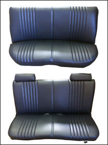 OLDSMOBILE CUTLASS COMPLETE SET SEAT COVERS, FACTORY REPLACEMENT 1978-1982