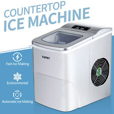 Electric Portable Frigidaire Ice Maker Cube Machine Countertop 26lbs/ Day Silver