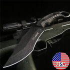 Fixed Blade Tactical Knife Outdoor Survival Hunting Camping Military Army Dagger