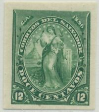 El Salvador Sc. 139 var Peace Mlh 1896 Imperforate