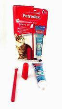 Petrodex Cat Dental Care Kit Malt Flavor Toothpaste Tartar Control