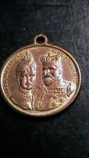 Antique King Edward VII & Queen Alexandra Commemorative Medal ~ Jan 25, 1901