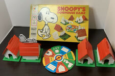 Vintage Milton Bradley SNOOPY'S DOGHOUSE  GAME 100% Complete Made in the USA