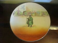 """Large 13.5"""" Royal Doulton Tony Weller Dickens Ware Charger Platter D6327"""
