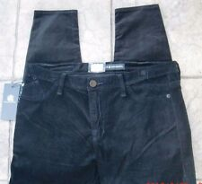 ROCK & REPUBLIC Mid Rise 5 Pocket Design Leggings - Size 16M-SR $88-Black Velvet