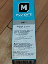 Dow MOLYKOTE™ 3452 Chemical Resistant Valve Lubricant White 57 g Tube