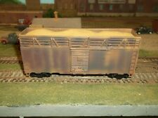 HO  scale  wood chip car 40'