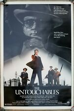 Vintage 1987 THE UNTOUCHABLES One Sheet Movie Poster DePalma Costner DeNiro