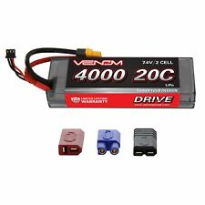 Venom LiPo Battery : Traxxas Stampede 1:10 20C 7.4V 4000mAh 2S with UNI Plug