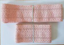 Vintage Pink Lingerie Elastic - Circa 1950's - 3.5 metres