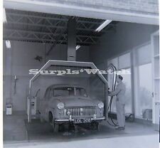 B/W 6x6 Negative x3  Marriotts Garage Worthing Mobil Gas Lower Brighton Road 50s