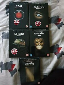 Stanley Kubrick Movie Collection x5 (Region 2 DVD), Brand New & Sealed