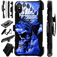 Lux-Guard For iPhone 6/7/8 PLUS/X/XR/XS Max Phone Case Cover CHIEF SKULL FULL