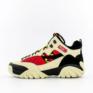 Fila Fixture Hiking Shoe White/Red/Black
