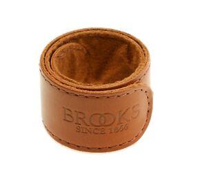 Brooks Trouser Strap Leather Pant Leg Strap Bicycle Single Strap - Honey - NEW