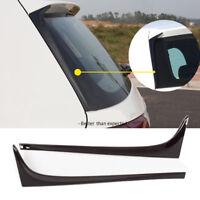 Gloss Black Rear Window Side Spoiler Wing for VW for GOLF 7 for MK7 GTD R 14-19