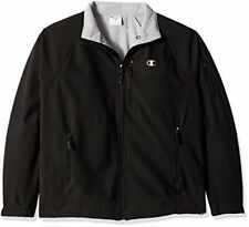 Champion Men's Performance Jacket 3XL Black Stretch Water Wind Resistant Duofold
