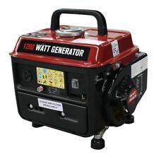 Electric Generator Portable Gas Gasoline Power 1200W WATT Camping Emergency Safe
