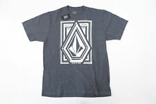 VOLCOM STONE DIM LOCK GRAY MEDIUM TSHIRT MENS NWT NEW