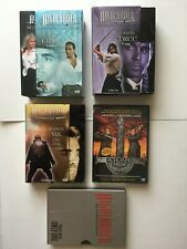 Highlander Dvd mixed lot, movies and series, used