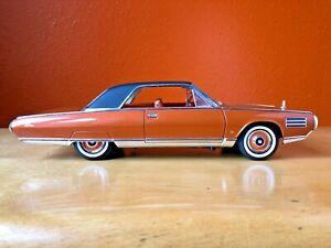 1963 Chrysler Turbine 1/18 Scale Road Signature Diecast Copper Mid Century 92448
