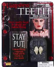 Vampiress Teeth Fangs - Vampire Costume Accessory