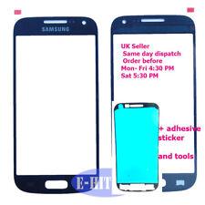 Samsung S4 Mini Negro Cristal Exterior Frontal Pantalla Táctil I9190 GTI9190 + Adhesivo