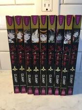 xxx Holic Anime Manga Book Set Vol 1-9 English Ec Clamp